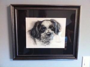 """""""Oreo"""" framed"""