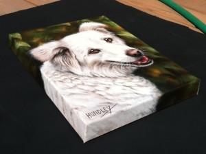 """Say-D"" Gallery wrap on 1.5"" deep canvas"